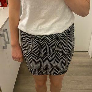 Zara Art Deco skirt